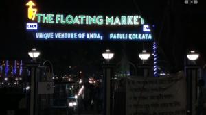 India's first Floating Market in Kolkata , #cityofjoy, #floating_market