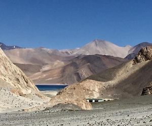 You take my breath away.. and not just because of the altitude. #Pangongtso #tripotocommunity
