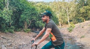 Cycling In The Forest, National Park Mumbai
