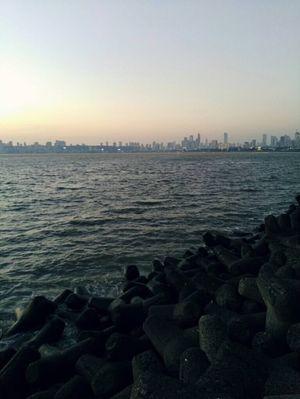 The Famous Marine Drive Of Mumbai