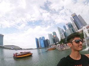Singapore's merlion. #SelfieWithAView #TripotoCommunity