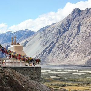 Straight out of a Painting - Nubra Valley, Ladakh  #BestTravelPictures @tripotocommunity