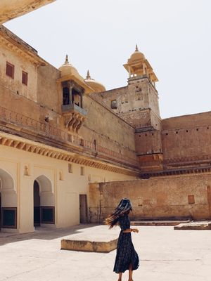 Amber Fort, melting pot of Rajasthan's art, culture and history. #BestTravelPictures