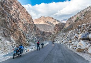 Motorcycle Trip to Kaza, Spiti