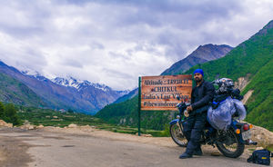 Chitkul, India's last village on motorcycle, Budget Trip #indiain5k
