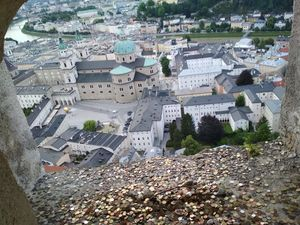 View from The Window of Hohensalzburg Fortress -The CitiScapes with Cents & Dimes