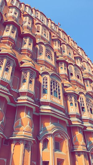 hawa mahal was striked out from the to see list that day
