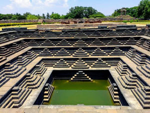 The Pushkarni in Hampi... Stunning architecture and sights... BestTravelPictures