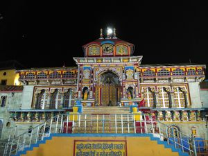 Badrinath Temple. #BestTravelPictures