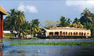 Day in backwaters.