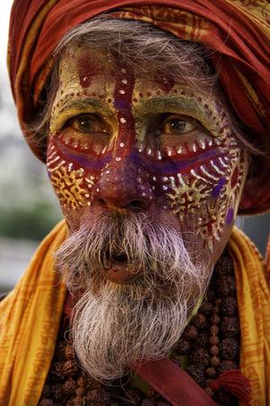 Colourful Sadhu of Pashupathinath Mandir  #BestTravelPictures