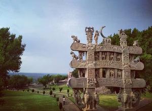 Symbol of peace ☮️ Sanchi stupa