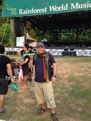 Rainforest world music festival, Sarawak 2014
