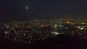 JAIPUR PINKCITY NIGHT VIEW FROM NAHARGRAH FORT IN FULL MOON#tripotocommunity#jetairways#somanirajeev
