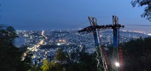 Vizag at its best! A capture from Kailsagiri hill.
