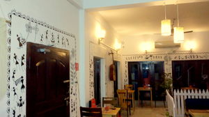 One of a kind cafe : The BOHO ROOTS Cafe, Guwahati.