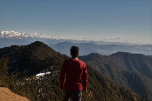 Solo Naga Tiba Winter Trek