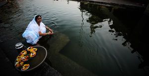 """ On Ghats Of Ganga "" @tripotocommunity #tripoto # best travel # Contest"