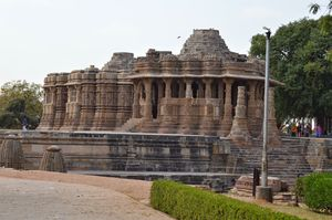 Rare temple of God : Sun Temple, Modhera