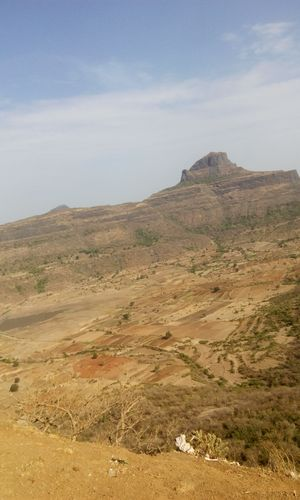 A goddess of mountain : Saptasrungi Devi Temple - Vani, Maharastra