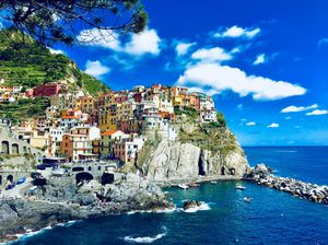 Cinque Terre-The azure galore #colourblue