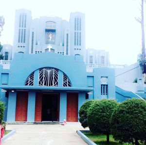 The Cathedral and the Eucharistic Procession - Shillong