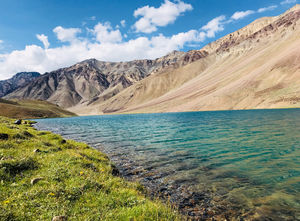 The Moon Lake- Chandra Tal