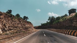 The mountain that joints prayagraj UP with rewa MP. Soothing roads with amazing views along the way!