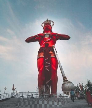 250 ft tall Mahavir Hanuman Ji statue.