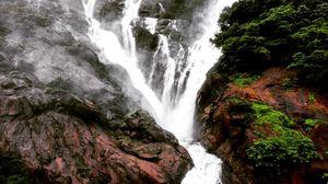 Milky white waterfalls!