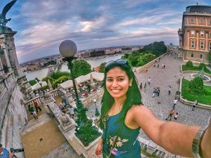 In the prettiest Buda-Cute-Pest! #SelfieWithAView #TripotoCommunity