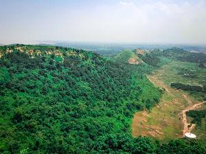View from the Gandhi Minar of Hirakud Dam.???? #TripotoTakeMeToGoa