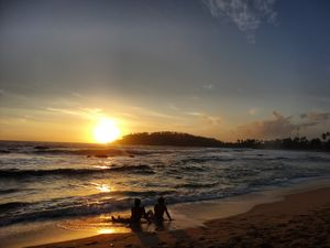 Evening at a beach!! #besttravelpictures @tripotocommunity