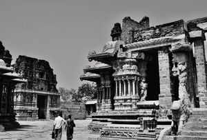 Hampi- Where the stone echoes in silence !!