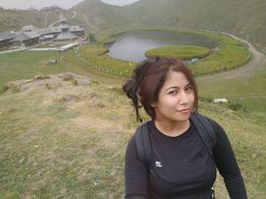 Me Solo Tripping at Parashar Lake  #SelfieWithAView #TripotoCommunity