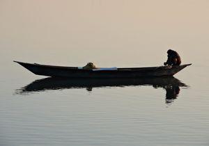 Fishing at Brahmaputra River