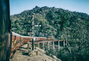 Hill station Heritage train safarigoramghat hill station aravli rang marwar Phulad#besttravelpicture
