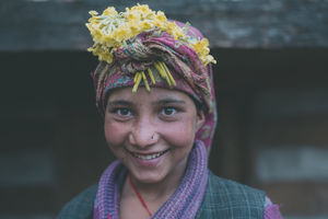 During monsoons people in Osla wear wild blossoms signifying oneness with planet.#BestTravelPictures