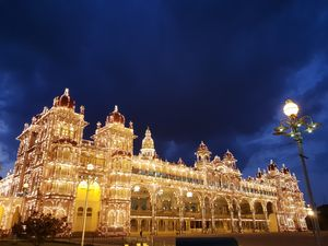 Mysore palace..altimate view and weather ..