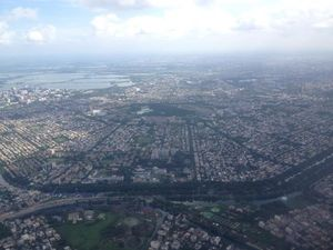 Looks like a Pentagon! Taking off from Kolkata to Guwahati! #BestTravelPictures @tripotocommunity
