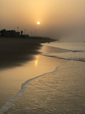 Sunrise at the Puri Beach . #BestTravelPictures @tripotocommunity
