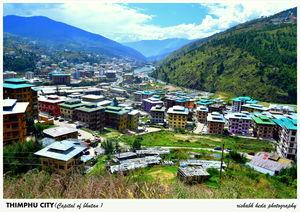 Capital of Bhutan :- Thimphu #besttravelpictures