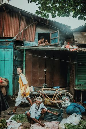 Stolen Moments from the streets of Calcutta