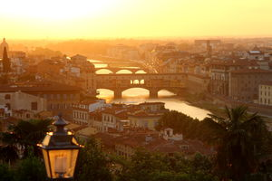 Ponte Vecchio is Florence's medieval stone arch bridge over the Arno River. #BestTravelPictures