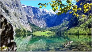 Berchtesgaden National Park's (Germany) most beautiful lake Koenigssee. #BestTravelPictures