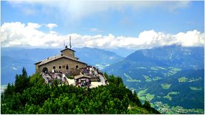 The Eagle's Nest is the gem of Berchtesgaden National Park, Germany. #BestTravelPhotos