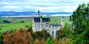 Exploring Bavaria: The Disney Fantasy - Neuschwanstein Castle #tenphotos
