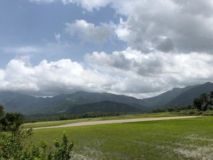The hills of Courtallam. India the land of agriculture.