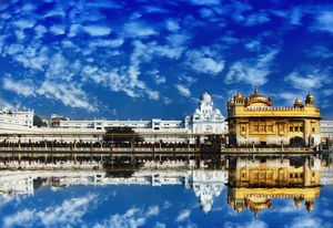 VAHIGURU JI KA KHALSA VAHIGURU JI KI FATEH Central worship place for Sikhs around the world.