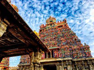 Srirangam temple #BestTravelPictures